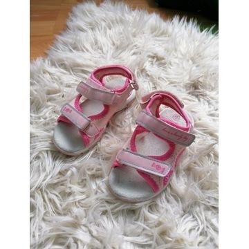 Sandałki dla dziewczynki roz 24