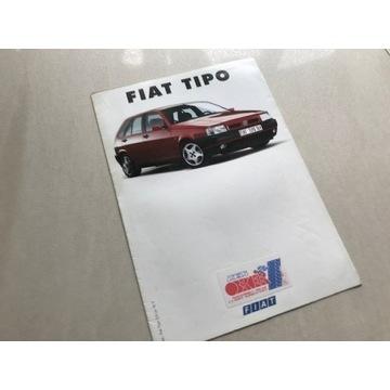 Prospekt folder Fiat Tipo I