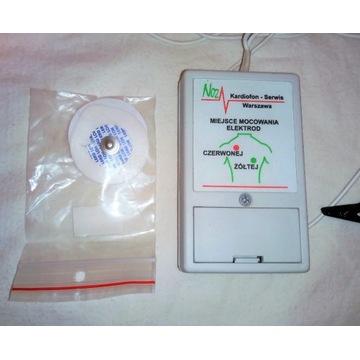 monitor pracy serca pulsometr Kardiofon