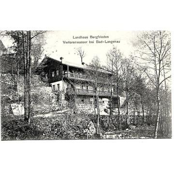 Ponikwa, (Verlorenwasser), 1911 rok