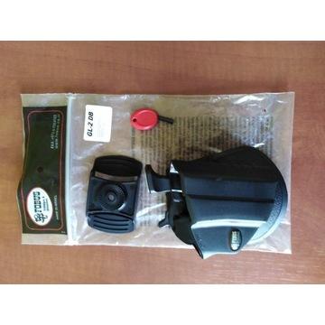 Kabura Fobus Glock 17-19 GL-2 DB ZABEZPIECZENIE