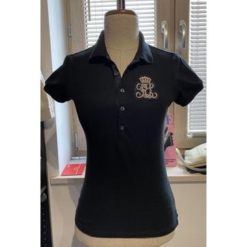 Koszulka polo, czarna, Polo Ralph Lauren, rozm. XS