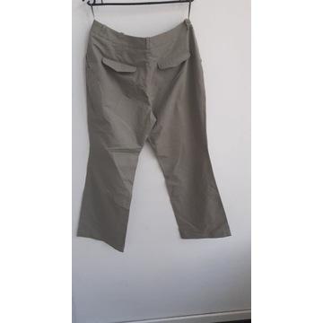 Beżowe klasyczne spodnie WYPRZEDAŻ