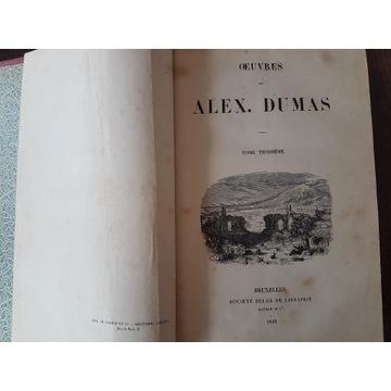 A.Dumas III - Souvenirs de voyage.1843 Bruksela