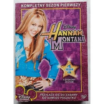 Disney HANNAH MONTANA Kompletny Sezon Pierwszy 1