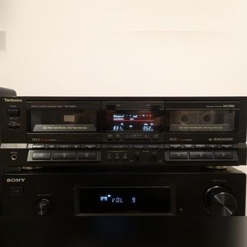 RS-TR555 Technics deck odtwarzacz kasetowy klasyk