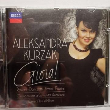 "ALEKSANDRA KURZAK ""GIOIA!"" !!!!!!"