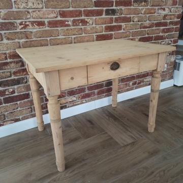 REZERWACJA 28.11Stół biurko drewniane antyk