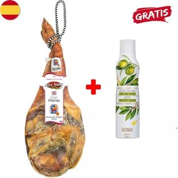 JAMON SZYNKA HISZPAŃSKA SERRANO 5 kg +OLIWA GRATIS