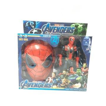 Spider-Man figurka maska zestaw Avengers prezent