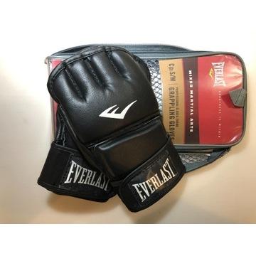 EVERLAST RĘKAWICE GRAPPLINGOWE MMA 7762 S/M BLACK