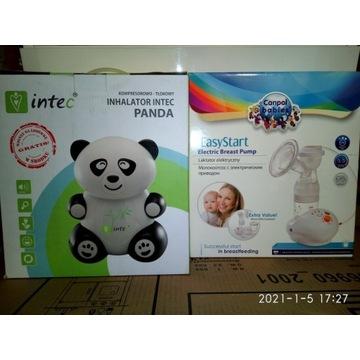 Inhalator Panda + Laktator elektryczny OKAZJA!