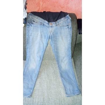 Spodnie jeansowe ciazowe r40