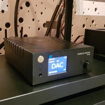 Streamer DAC Pre Gold Note DS-10, FV, Jak nowy !