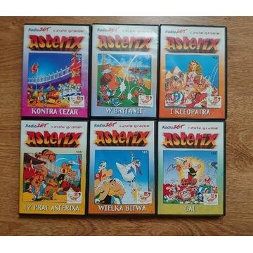 Kolekcja 6 filmów Asterix i Obelix