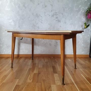 Piękny rozkładany stół/ława ROCKABILLY VINTAGE PRL
