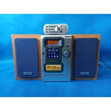 Wieża Thomson CS-80 / FM/CD/CD-R/RW/EQ/TAPE/Pilot