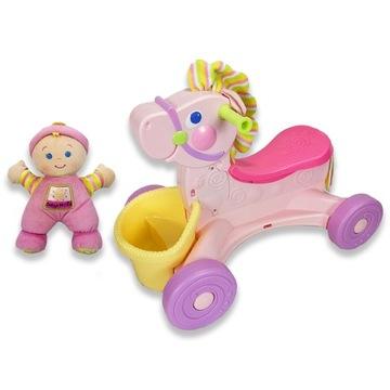 FISHER-PRICE Jeżdzik Pink Pony Konik + Lalka