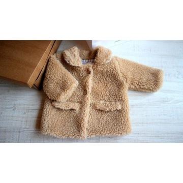 Beżowe futerko Teddy Bear (sweterkimalgosia) r.62