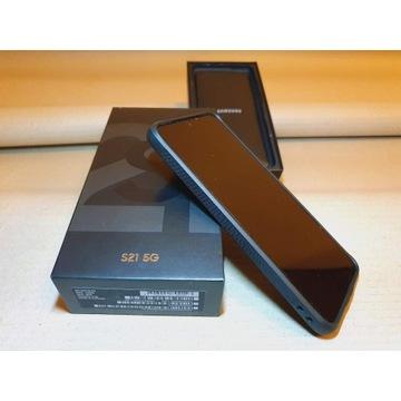 Telefon Samsung Galaxy S21 prawie nówka-Gwarancja