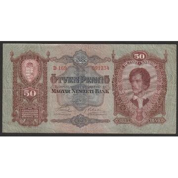Węgry 50 pengo 1932 - Petofi Sandor