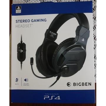 BIGBEN Słuchawki do PS4 licencja SONY - Headset