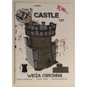 Wieża obronna z serii CASTLE - Świat z Kartonu