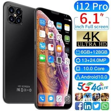 i12 pro 12+512 HD/4G/Wi-Fi 5G/ Smartphone