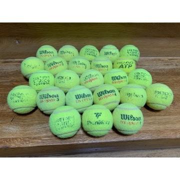 używane piłki tenisowe, cena za 100 piłek