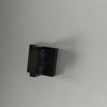 Lego zaczep czarny boczny 2 sztuki