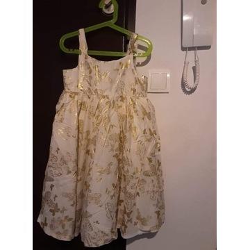 Sukienka H&M rozm. 128