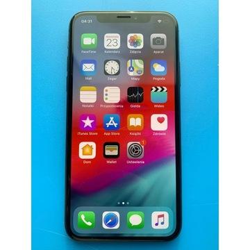 Iphone X 64GB Czarny z MaediaMarkt z gwarancją