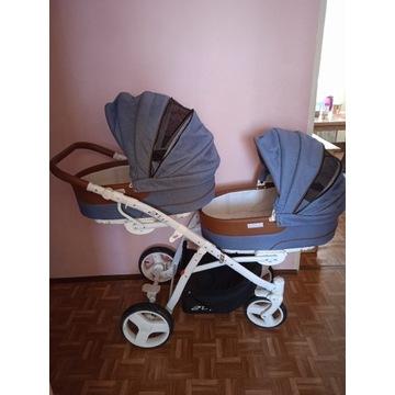 Wózek bliźniaczy 2ofUS Easy Go