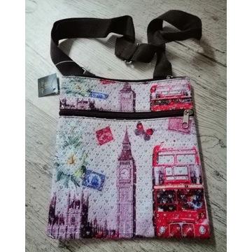 Torba torebka na ramię dla dziewczynki London