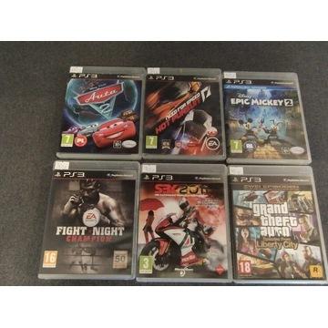 Gry PlayStation3 auta 2, Mickey, nfs