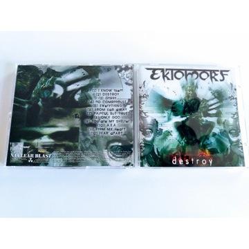 "EKTOMORF - ""Destroy""  CD"