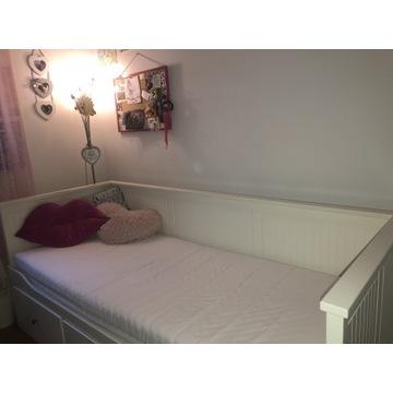 Łóżko IKEA Hemnes białe 80x200, 160x200