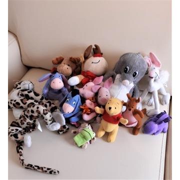 Pluszowe zabawki + pluszowe poduszki