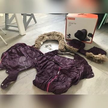 Stokke winter kit zimowy zestaw xplory Purp fiolet