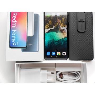 Redmi Note 9 Pro 6/128GB Glacier White+etui, szkło