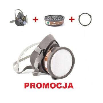 . . : : Maska 3M 3200 + filtr znak CE z PL NOWA ..