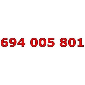 694 005 801 T-MOBILE ŁATWY ZŁOTY NUMER STARTER