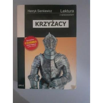 """""""Krzyżacy"""" z opracowaniem Henryk Sienkiewicz"""