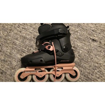 ROLKI ROLLERBLADE TWISTER EDGE EDITION BLACK / ROS