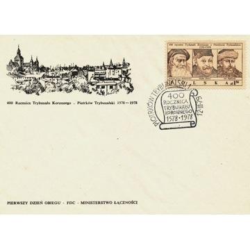 1979 400 rocznica ustanowienia Trybunału Koron FDC