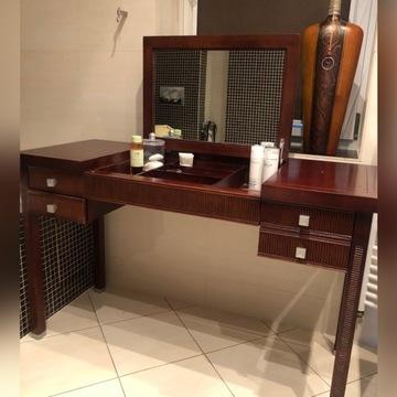 Toaletka z drewna w stylu kolonialnym Amarone VOX