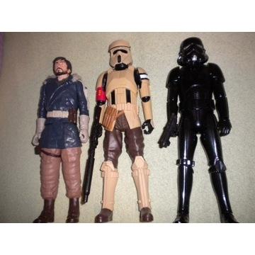 3 Figurki Hasbro Star Wars skala 1/12 ok 30cm