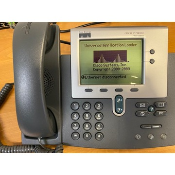 Telefon IP CISCO PHONE 7940  kompletny