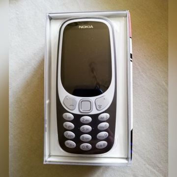 Telefon NOKIA 3310 3G DS czarnobrązowy