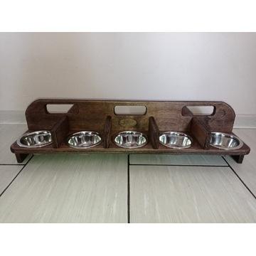 Miska dla szczeniąt kociąt miotu stojak  bar